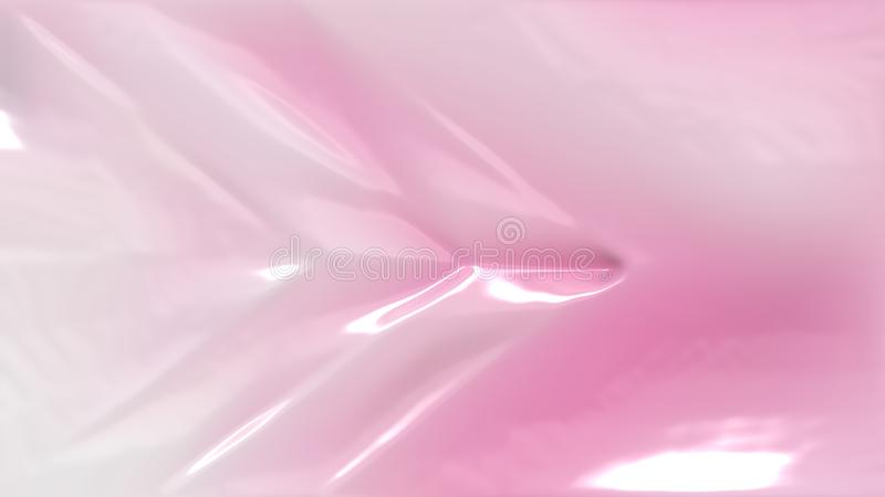 Textura plástica del rosa y blanca ilustración del vector