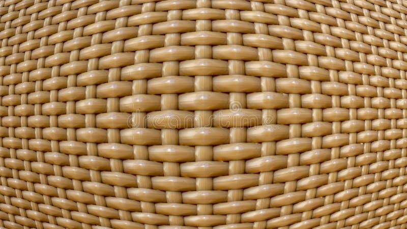 textura plástica do rattan fotos de stock royalty free