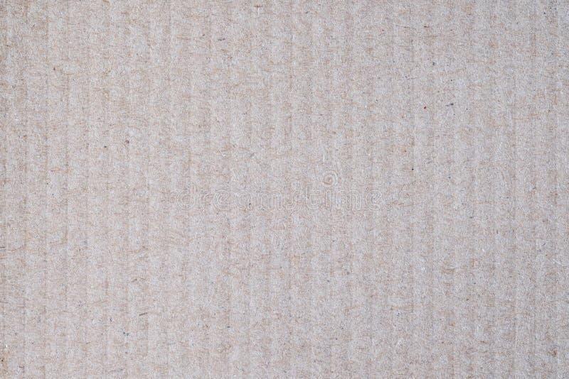 Textura plana del fondo de la caja de papel de Brown imagen de archivo