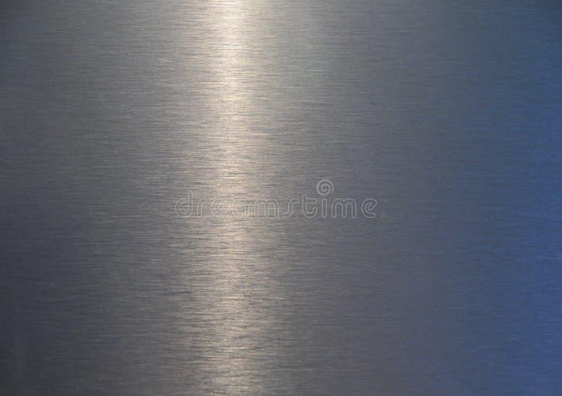 Textura plateada de metal imagenes de archivo