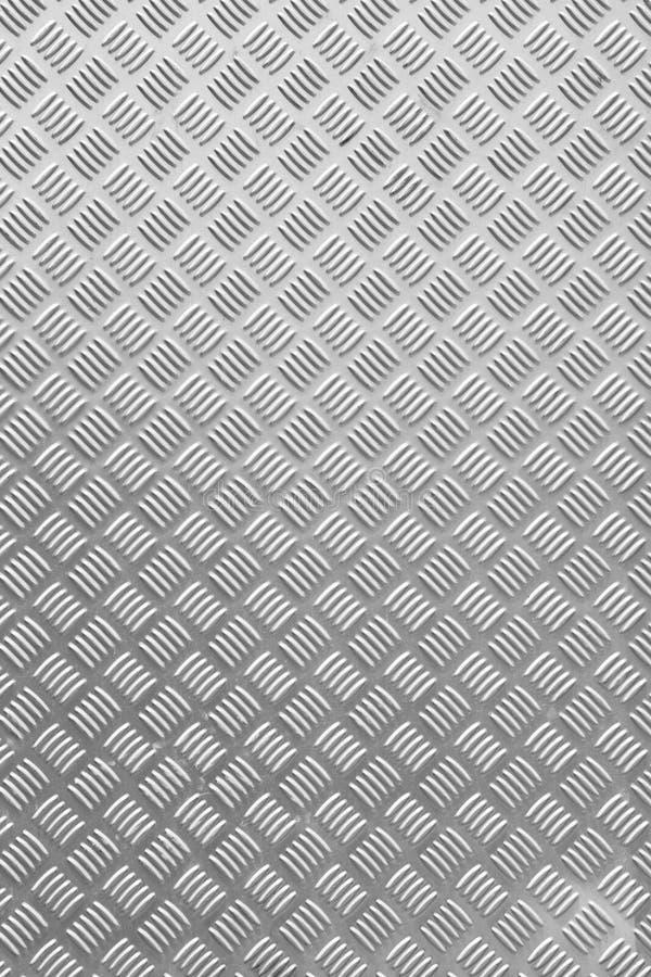 Textura plateada de metal del diamante del Grunge fotografía de archivo libre de regalías