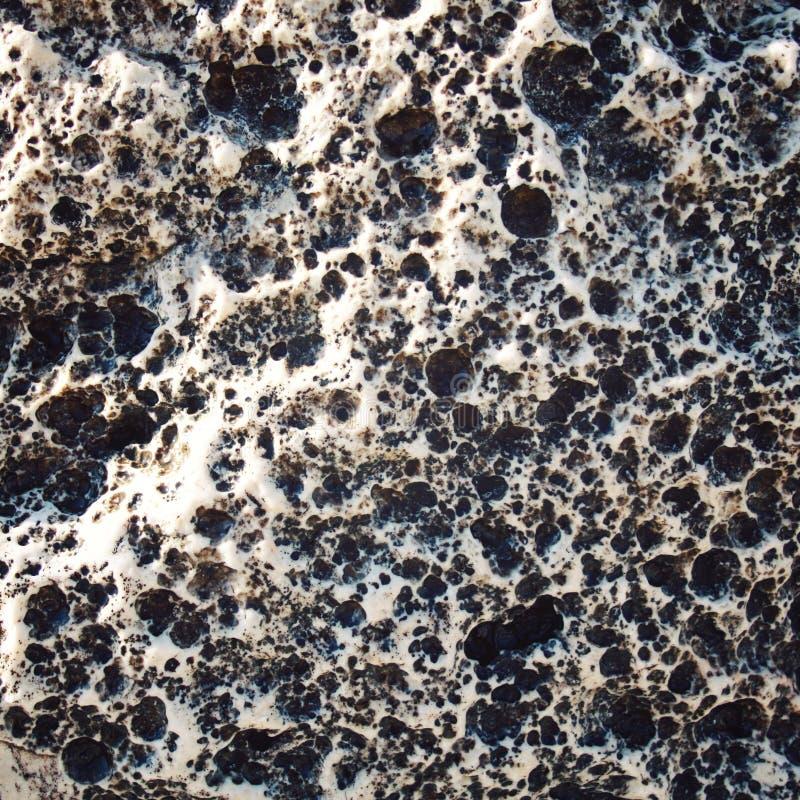 Textura porosa da rocha Foto envelhecida Fundo de pedra fotografia de stock royalty free