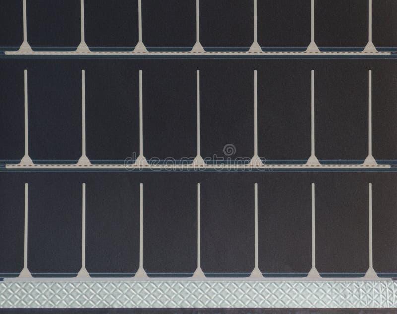 Textura portátil do painel solar fotos de stock royalty free