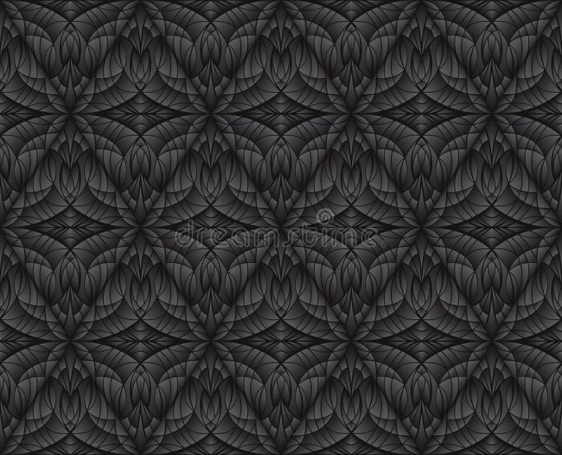 textura preta abstraia o fundo Decoração da parede interior ilustração stock