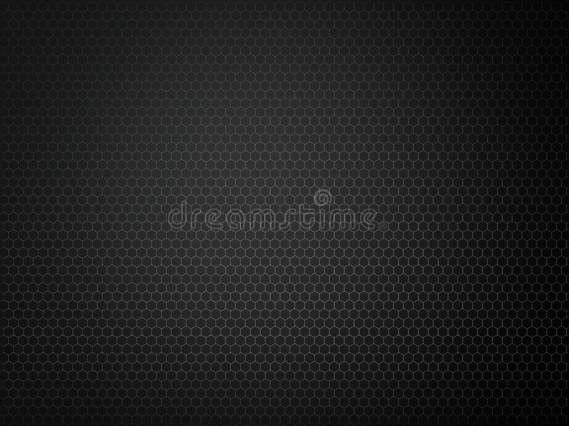 Textura preta abstrata da grade do metal fotografia de stock royalty free