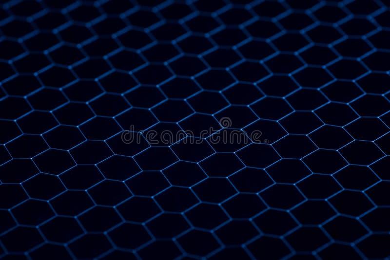 Textura preta da grade do ferro Fundo industrial imagens de stock royalty free