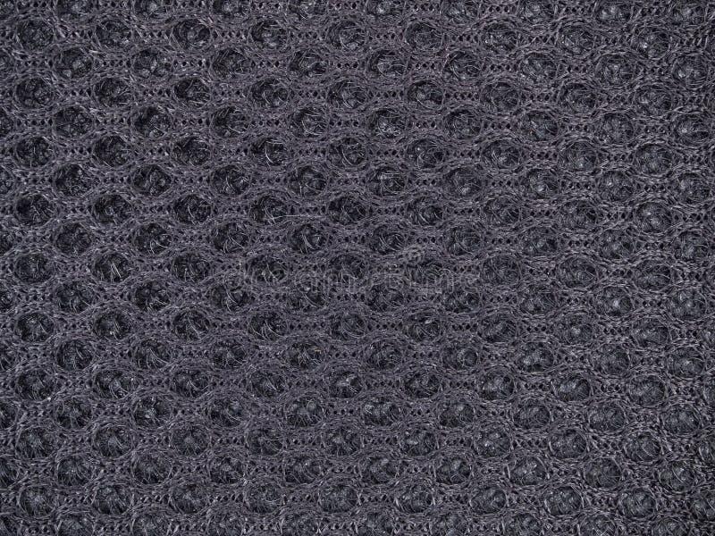 Textura preta da tela imagem de stock royalty free