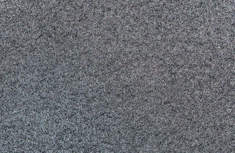 A textura preta da tela de lã para um revestimento de drapeja o tipo, fundo abstrato foto de stock royalty free
