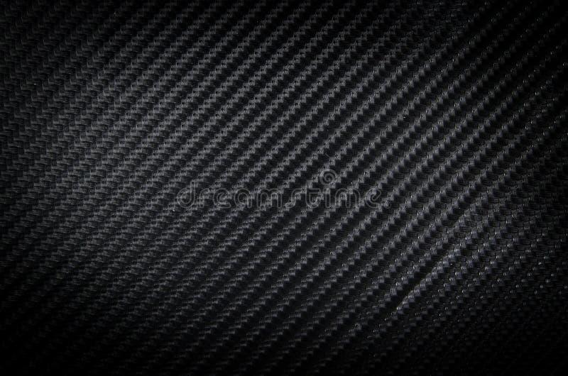 Textura preta do fundo da fibra do carbono imagens de stock