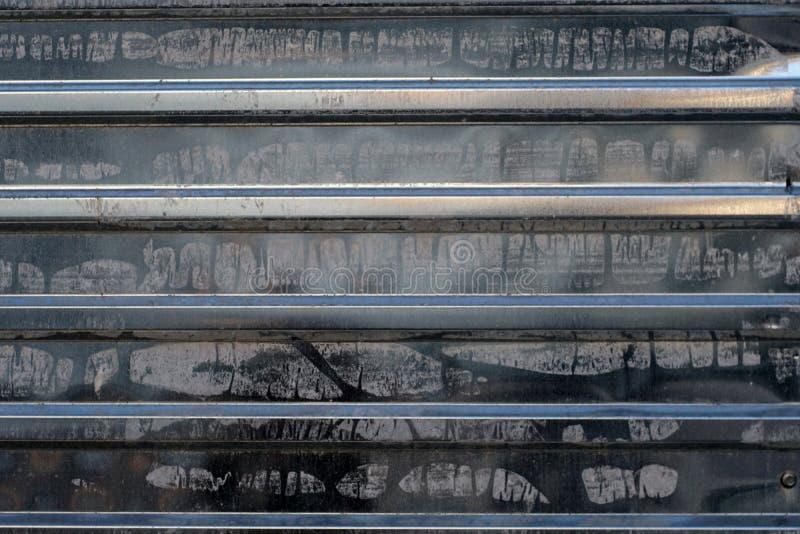 Textura preta do metal imagens de stock royalty free