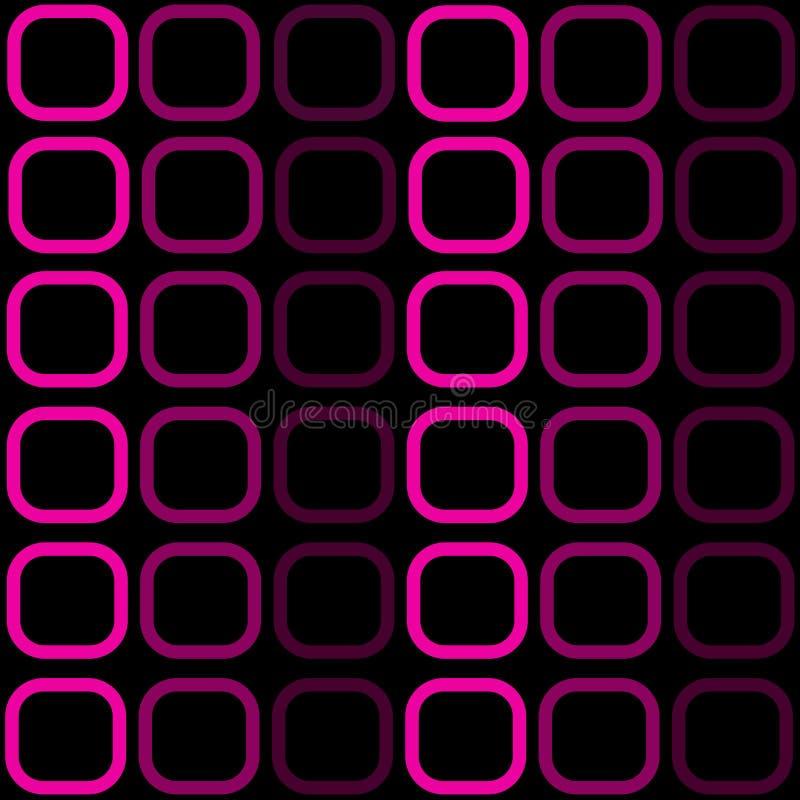 Textura preta e cor-de-rosa ilustração stock