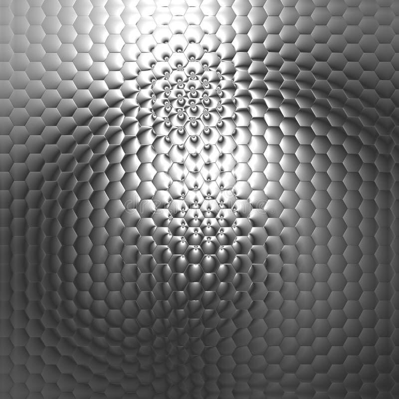 Textura preto e branco, fundo abstrato, teste padrão, ilustração digital ilustração do vetor
