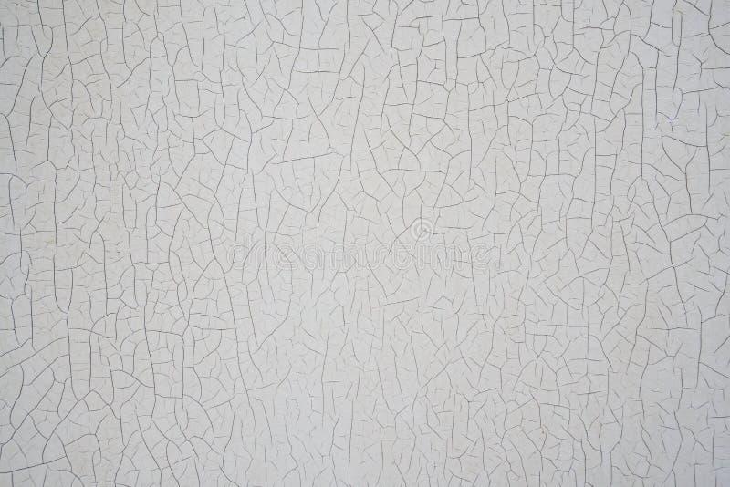 Textura qua chia velha e descascada do fundo do sumário do vintage da pintura imagens de stock royalty free