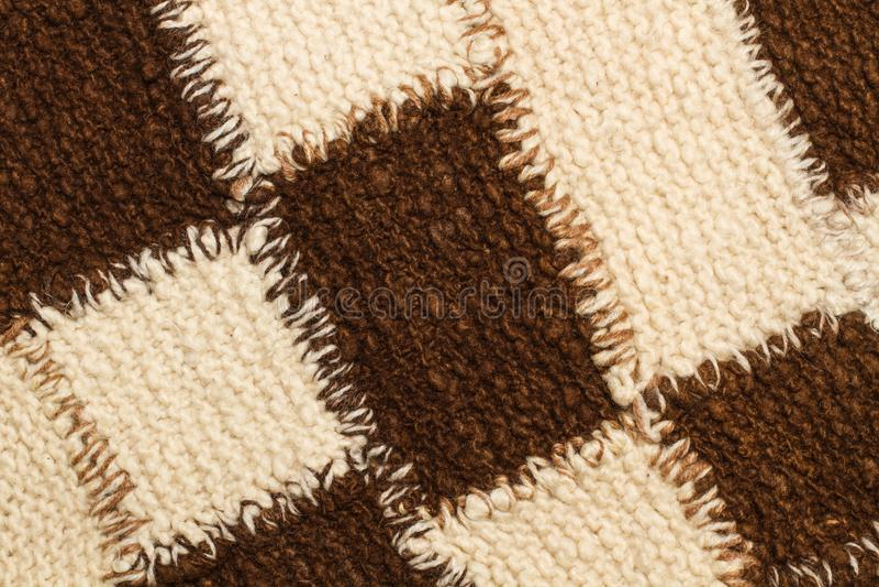 Textura quadriculado da saia foto de stock royalty free