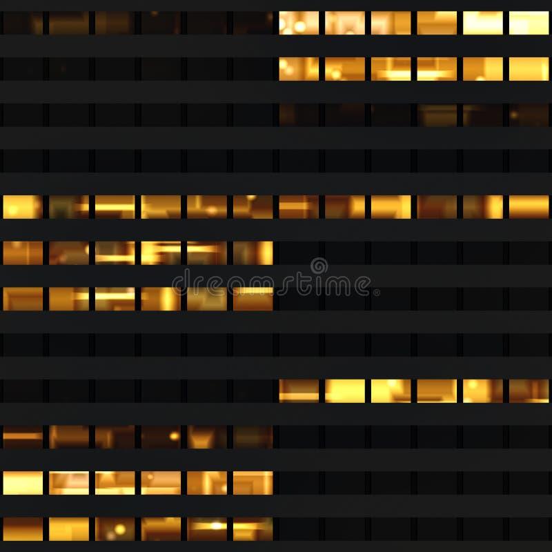 Textura que assemelha-se a indicadores do arranha-céus foto de stock