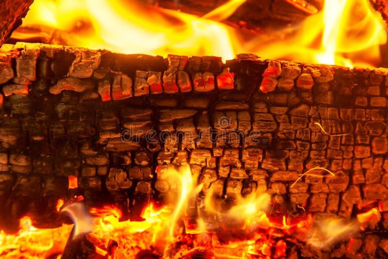 Textura quemada de madera, fondo abstracto imagen de archivo