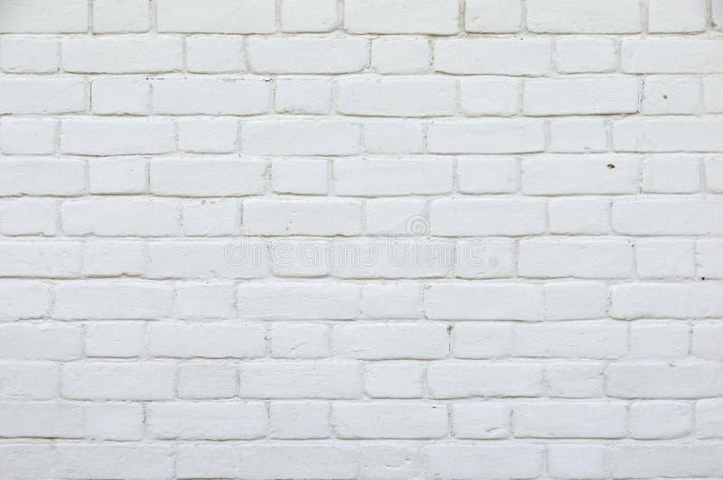 Textura r?stica branca Superf?cie velha Whitewashed retro da parede de tijolo Estrutura do vintage Emplastro pintado desigual gas imagem de stock royalty free