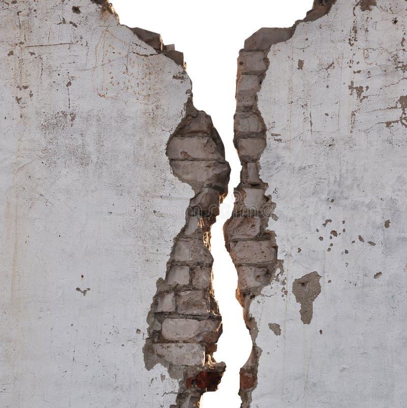Textura rachada da parede imagem de stock
