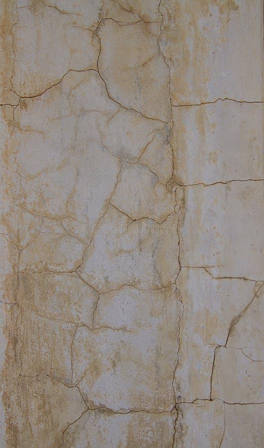 Textura rachada da parede do grego clássico fotos de stock royalty free