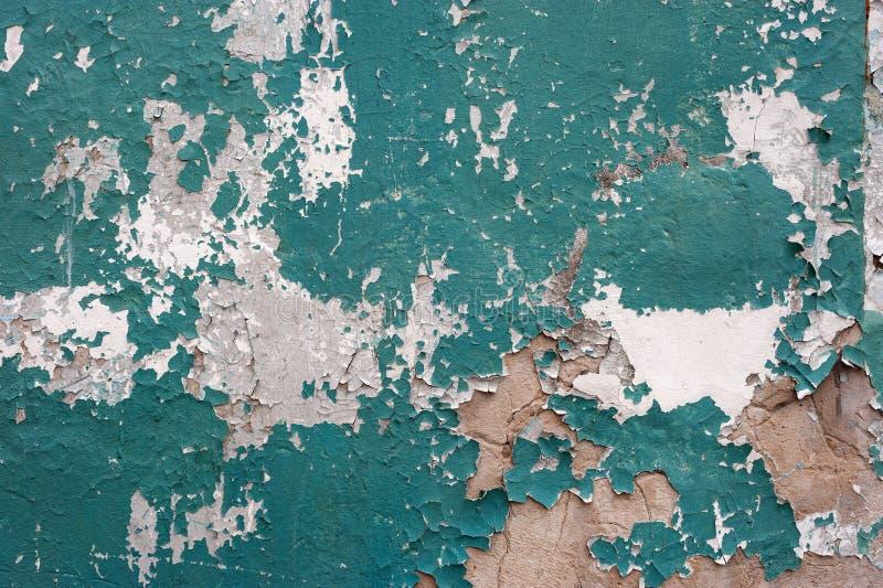 Textura rachada da pintura fotografia de stock