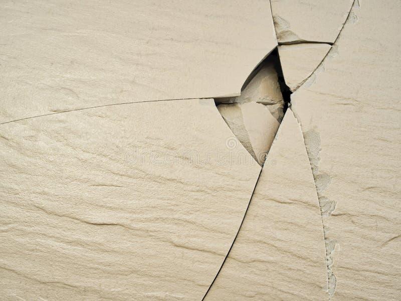 Textura rachada da telha do granito imagem de stock royalty free