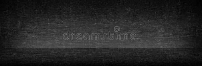 Textura real do fundo do quadro do tela panorâmico da placa no conceito da faculdade para de volta ao papel de parede panorâmic imagens de stock