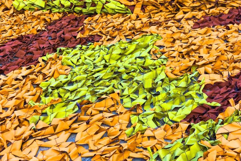 Textura resistida de pano da camuflagem Fundo e textura abstratos para o projeto Fundo militar da rede da camuflagem do mascarame fotos de stock royalty free