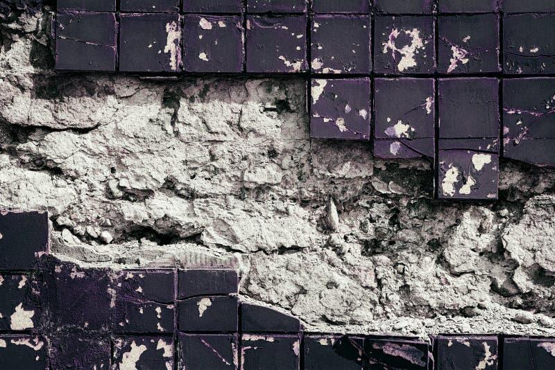 Textura resistida do grunge do muro de cimento com quadro de gasto velho foto de stock