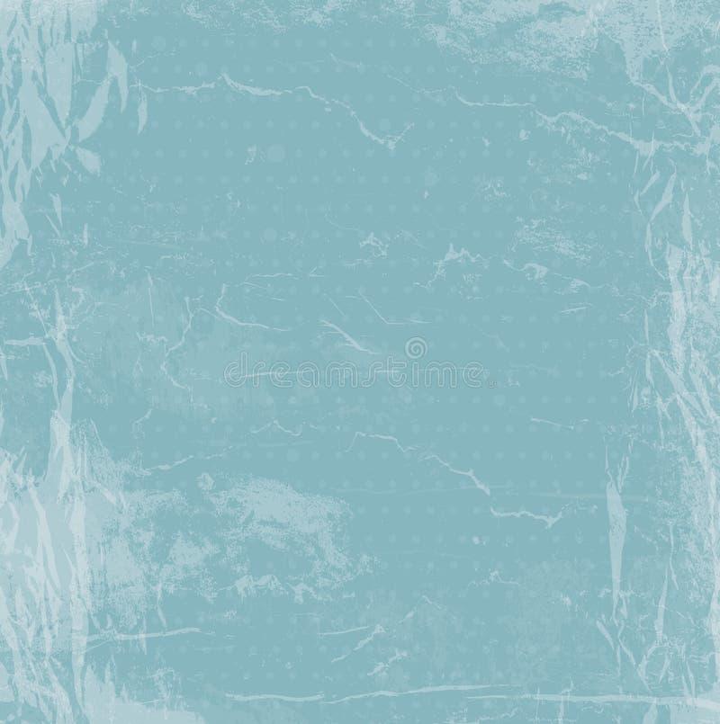 Textura retra del papel del vintage del Grunge, fondo del vector ilustración del vector