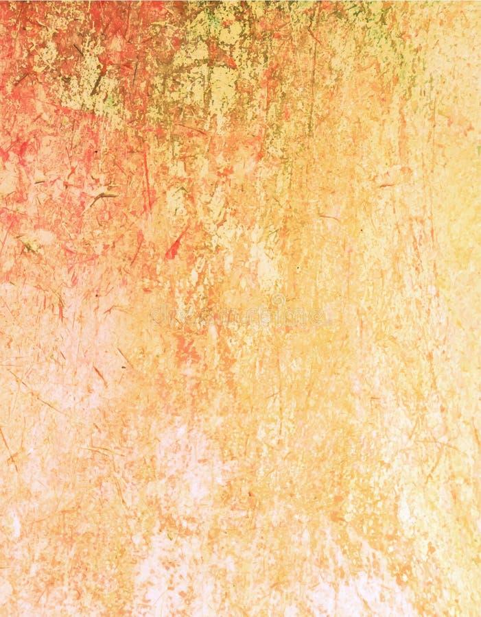 Textura retro da parede do vintage do Grunge, fundo do vetor g abstrato ilustração royalty free