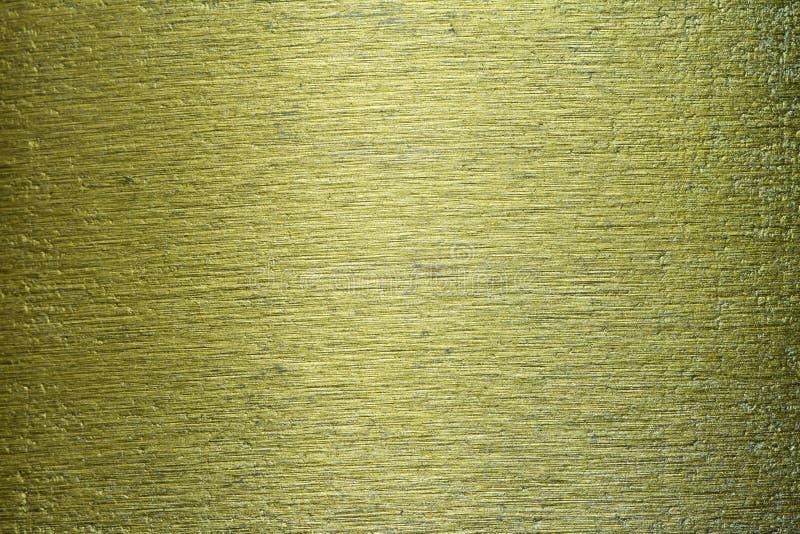 Textura riscada do fundo do metal bronze verde fotografia de stock