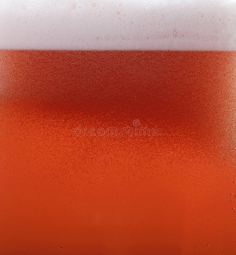 Textura roja de la cerveza foto de archivo libre de regalías