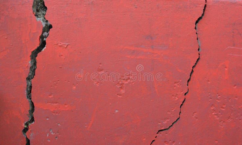 Textura roja de la pared imágenes de archivo libres de regalías