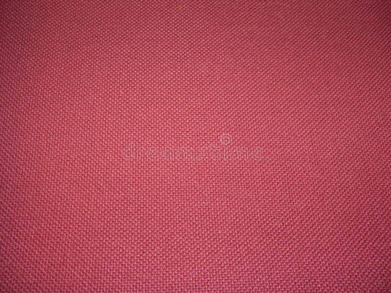 Textura Roja De La Tela Fotos de archivo