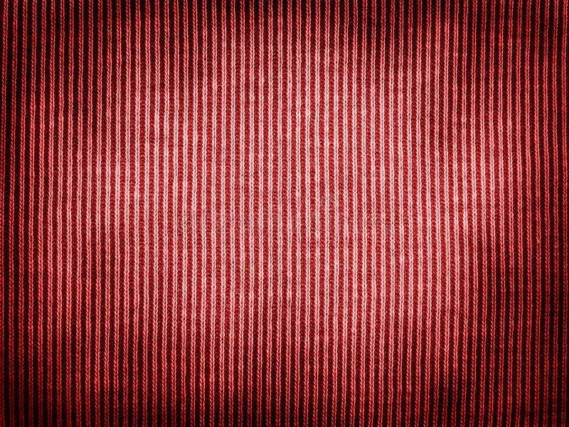 Textura roja de la tela del vintage fotografía de archivo libre de regalías