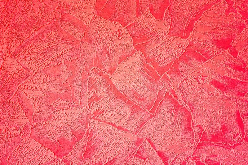 textura roja del extracto del papel foto de archivo libre de regalías