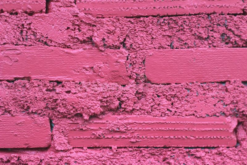 Textura roja del fondo de la pared de piedra imágenes de archivo libres de regalías