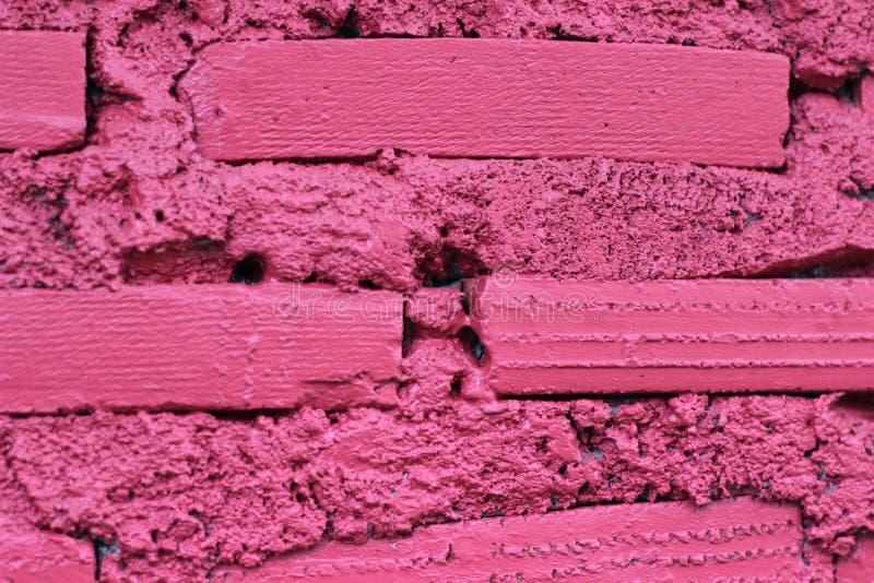 Textura roja del fondo de la pared de piedra fotografía de archivo