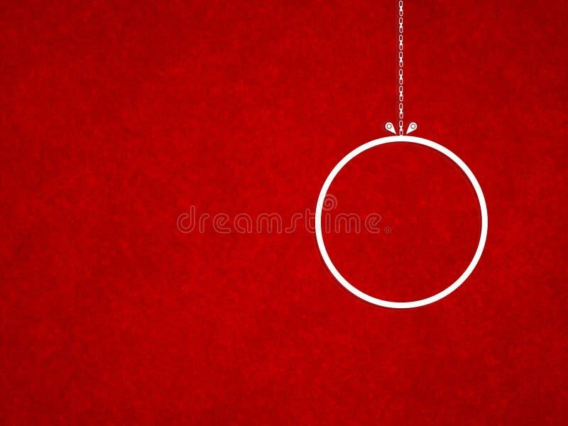 Textura roja del grunge del fondo de la Navidad foto de archivo
