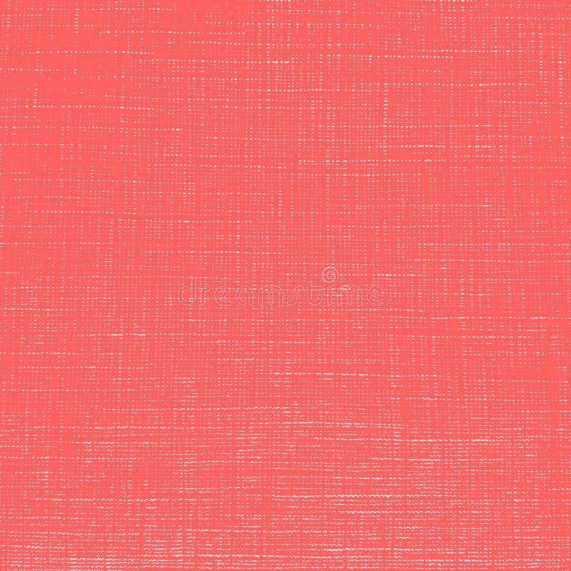 Textura roja del paño libre illustration