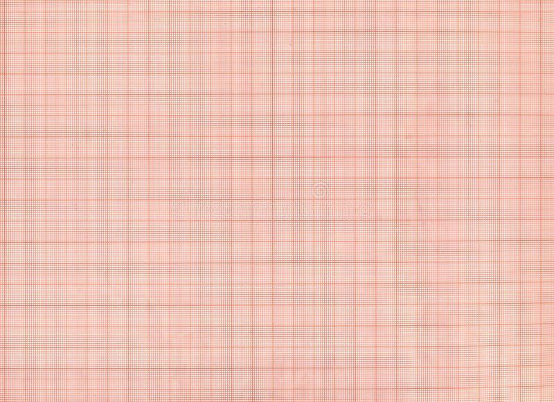 Textura roja del papel cuadriculado imagen de archivo