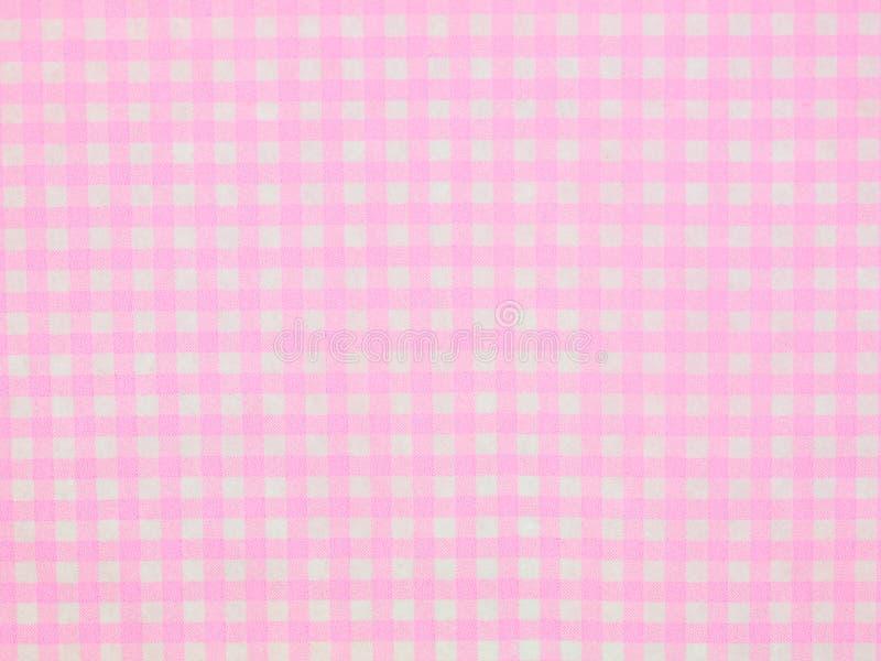Textura rosada del papel de la raya imagen de archivo