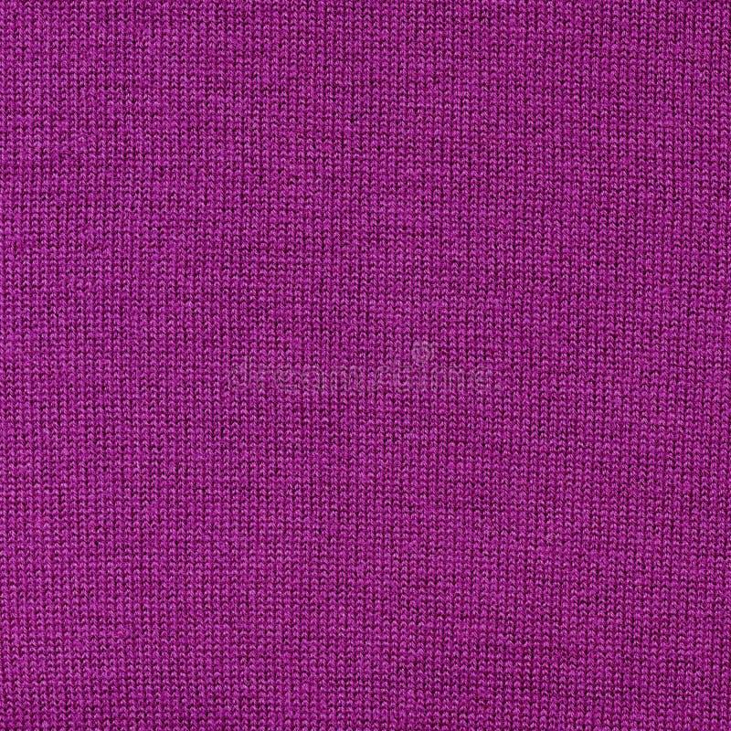 Textura roxa da tela do algodão fotografia de stock royalty free