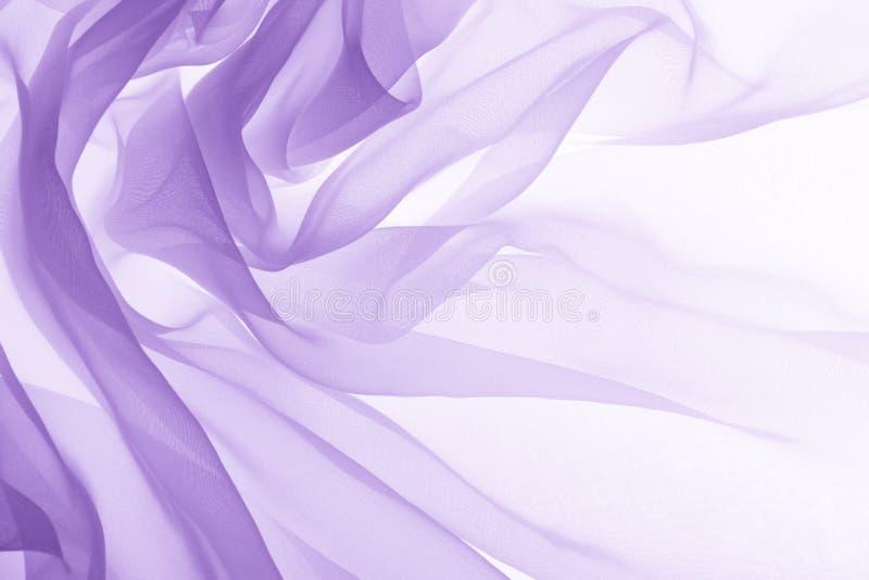Textura roxa macia do chiffon fotografia de stock royalty free