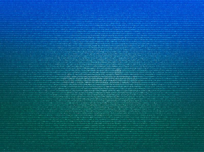 Textura scanlined azul e verde com hd do fundo do ruído imagens de stock