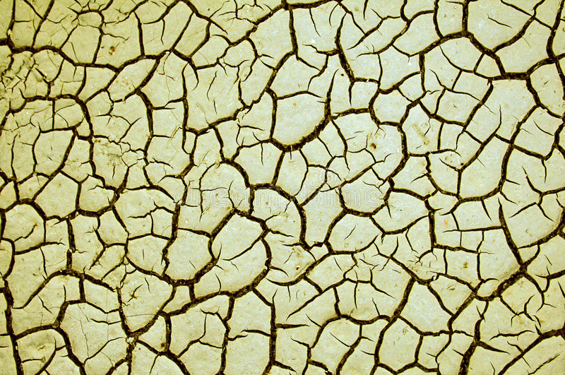 Textura seca agrietada de la tierra fotografía de archivo