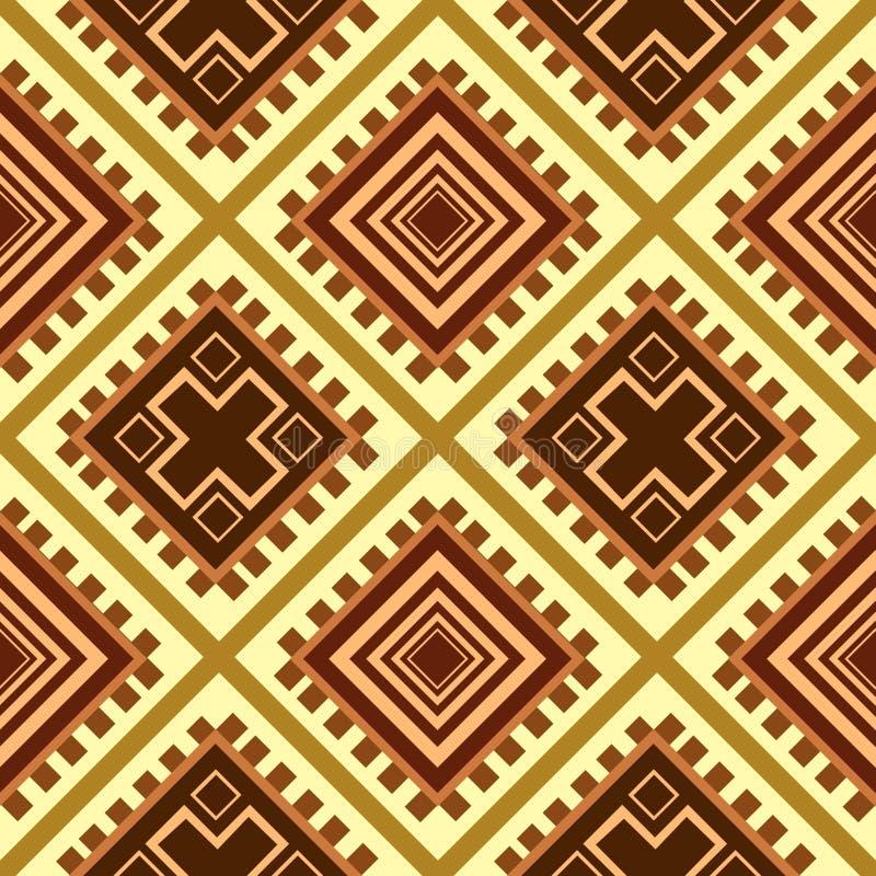 Textura sem emenda África ilustração stock