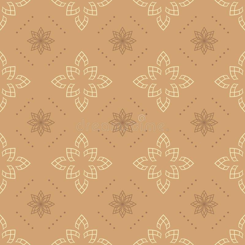 Textura sem emenda bege clara ilustração royalty free