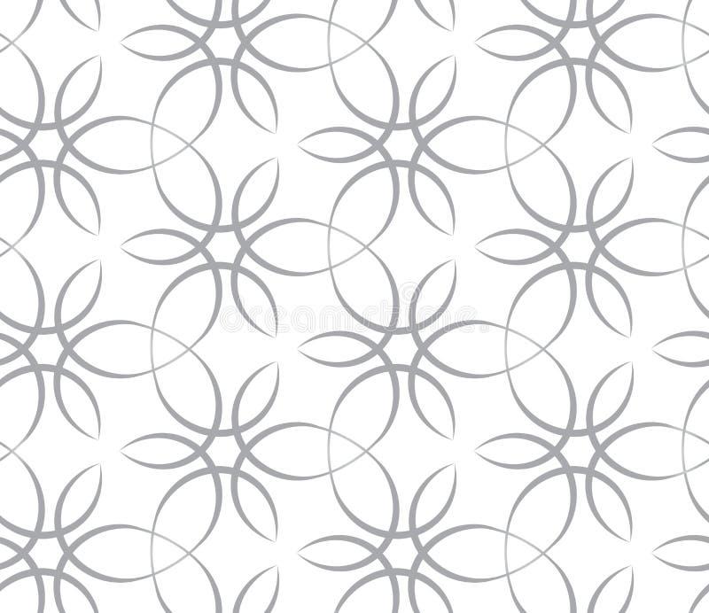 Textura sem emenda com laços ilustração stock