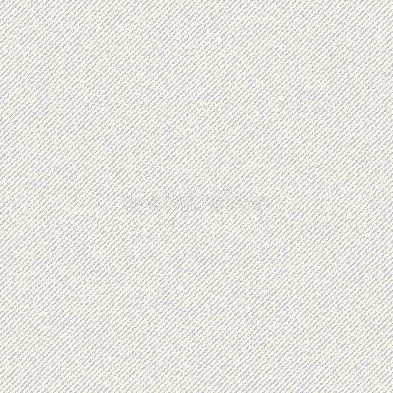 Textura sem emenda da lona ilustração stock